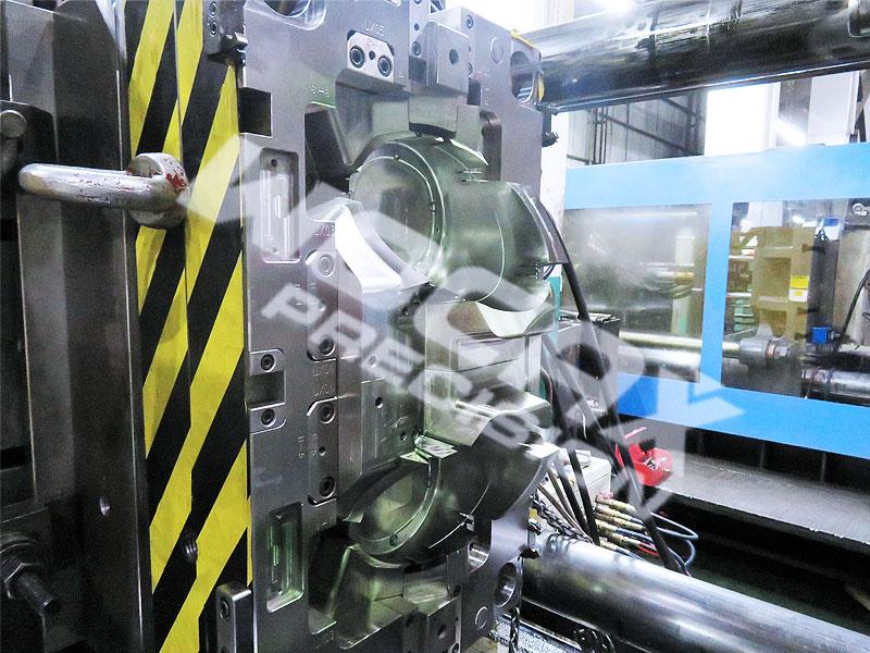 5 axis cnc machined headlamp shield